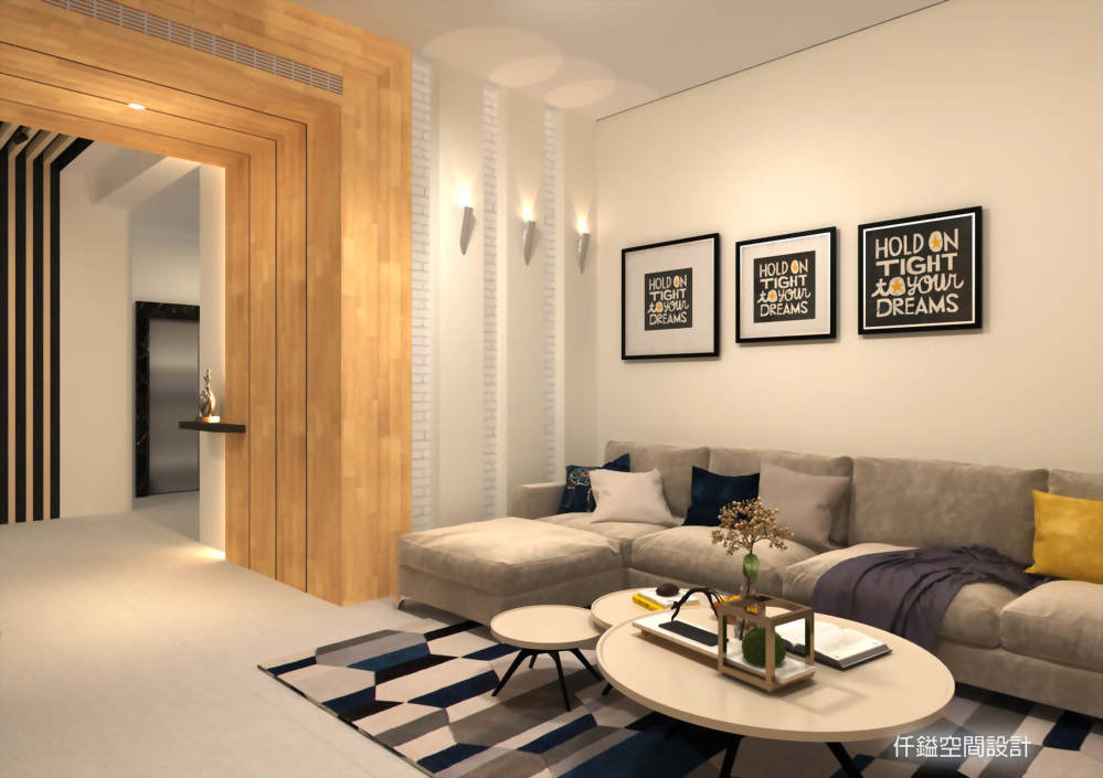 客廳設計推薦、餐廳設計推薦 - 仟鎰室內設計