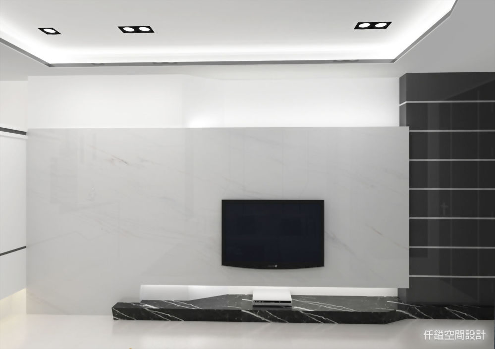 屏東廣東路-鐘先生客廳-仟鎰空間設計