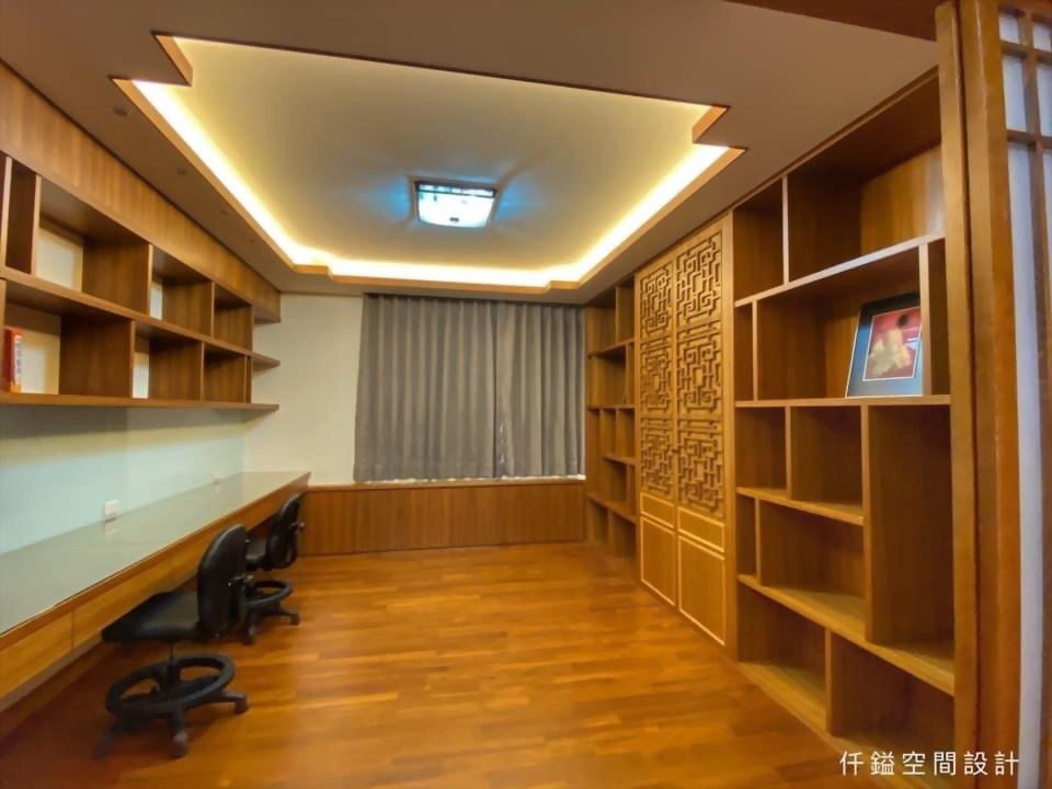 中國風書房設計推薦、中國風工作室設計推薦 - 仟鎰室內設計