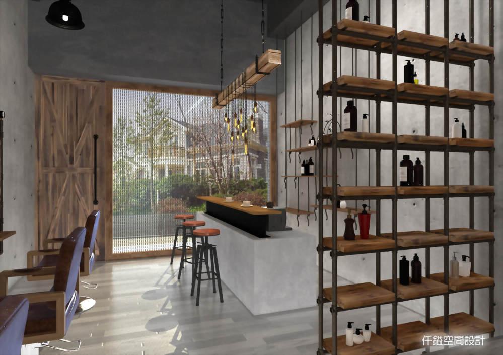 髮廊設計推薦、商業空間設計推薦 - 仟鎰室內設計