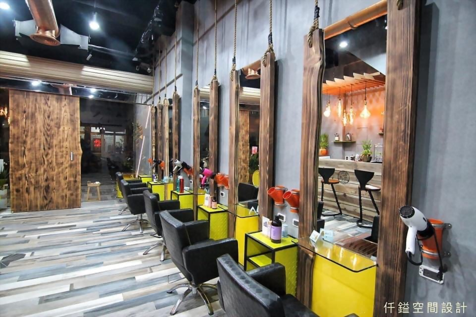 高雄美髮店設計推薦、屏東美髮店設計推薦 - 仟鎰室內設計