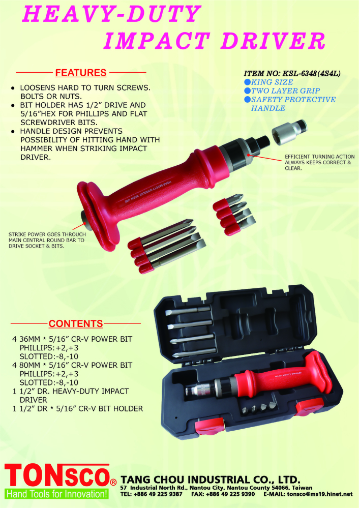 Heavy Duty Impact Driver King Size