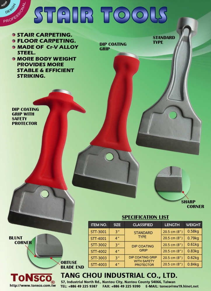 Stair Tools Straight Type