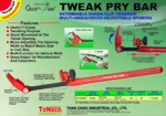 GearJaw Tweak Pry Bar with Nail Puller