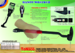 "Handy Wrecker 7/16"" Square Beam"