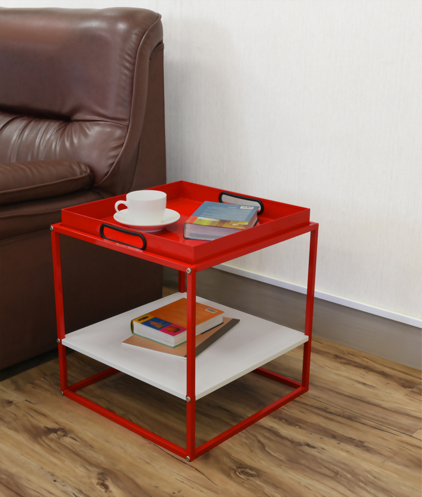 Corner Rack with Tray & Shelf