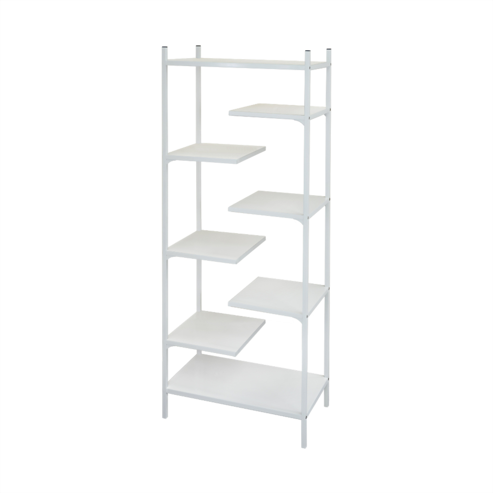 8 shelf rack-blue& white