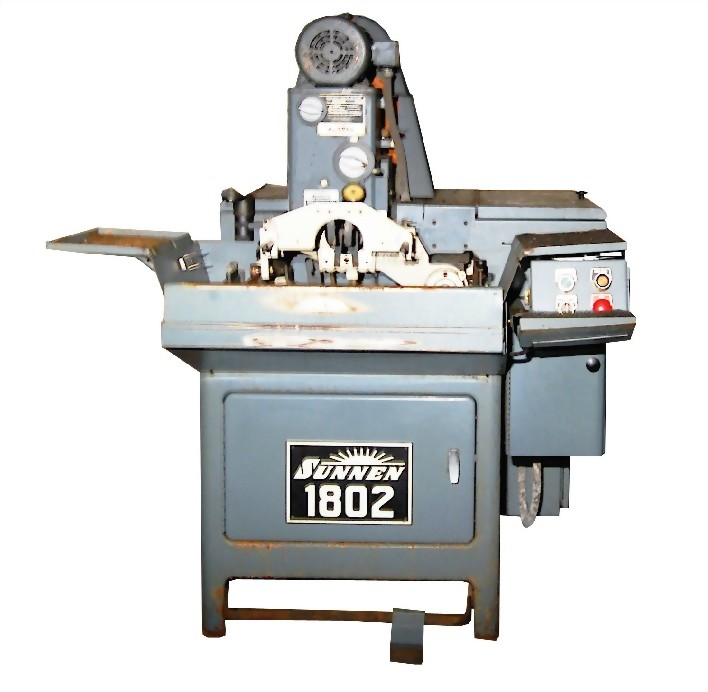 2. SUNNEN 橫式內徑研磨機 MBB-1802