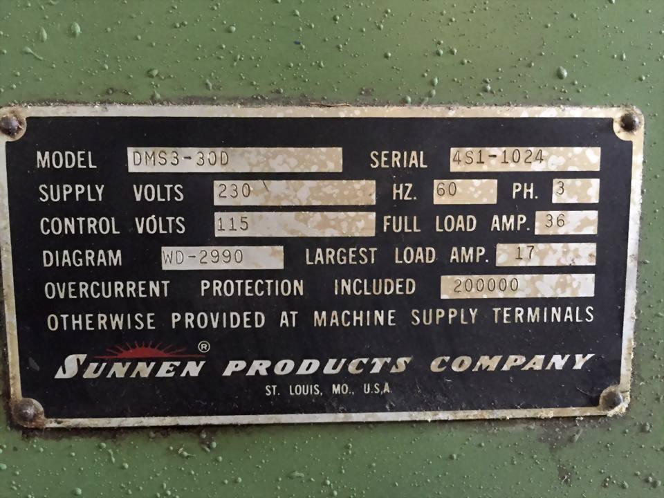 Sunnen  內徑研磨機 DMS3-40D