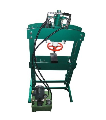 2. Power and Manual Hydraulic-Press(two usage)