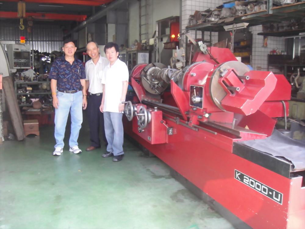 AMC K-2000U曲軸研磨機