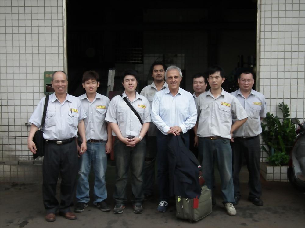 2012.04.14義大利廠商蒞臨及南港汽配展