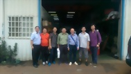 2014.09.22 Thailand customers - valve grinding machine