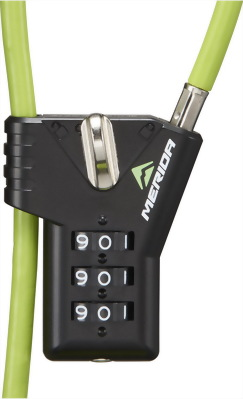 Merida 自行車鋼索密碼鎖