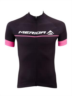 Merida 男 Pink短-自行車衣