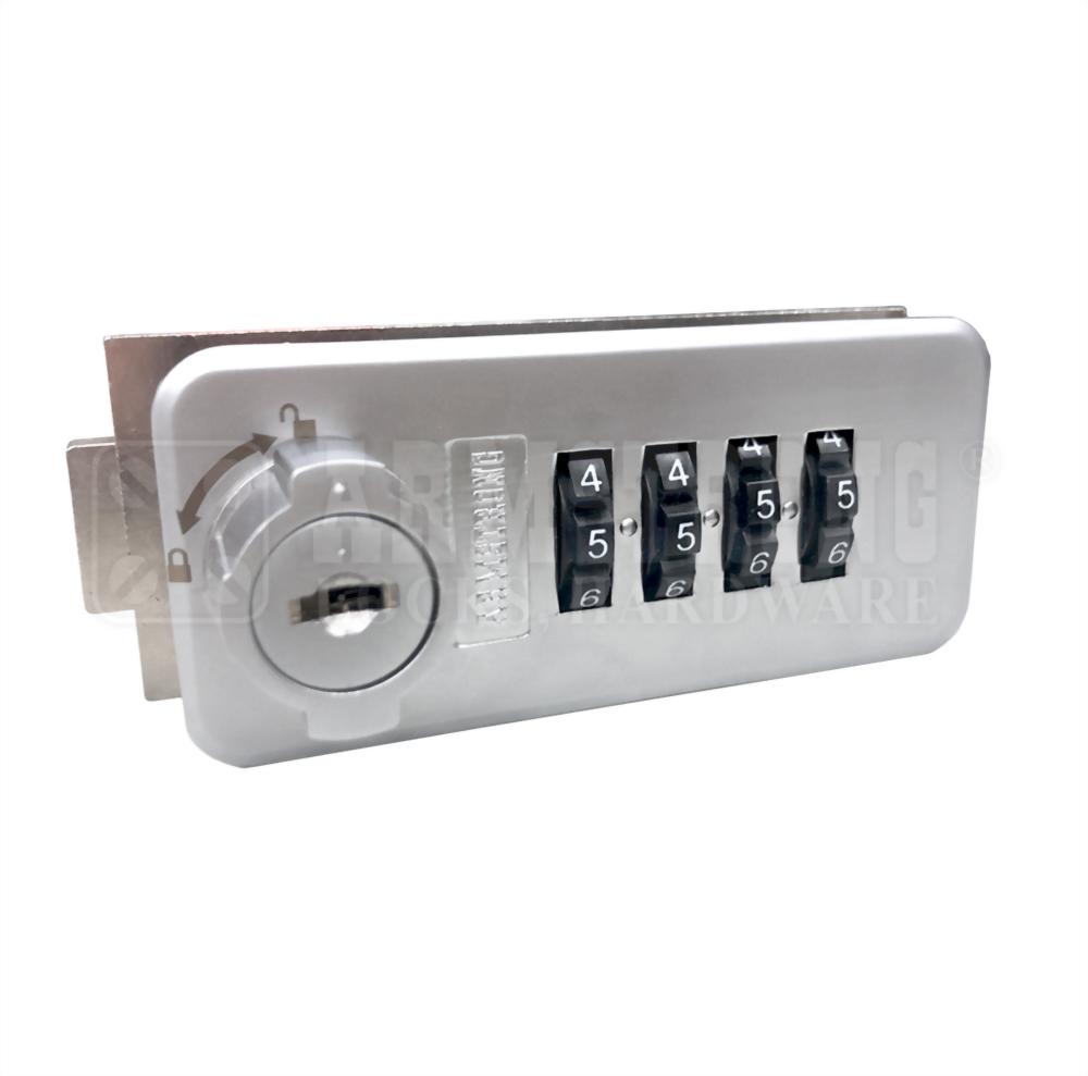 Kualitas Tinggi 4 Dial Combination Lock DL-003L-24 DL-003R-24