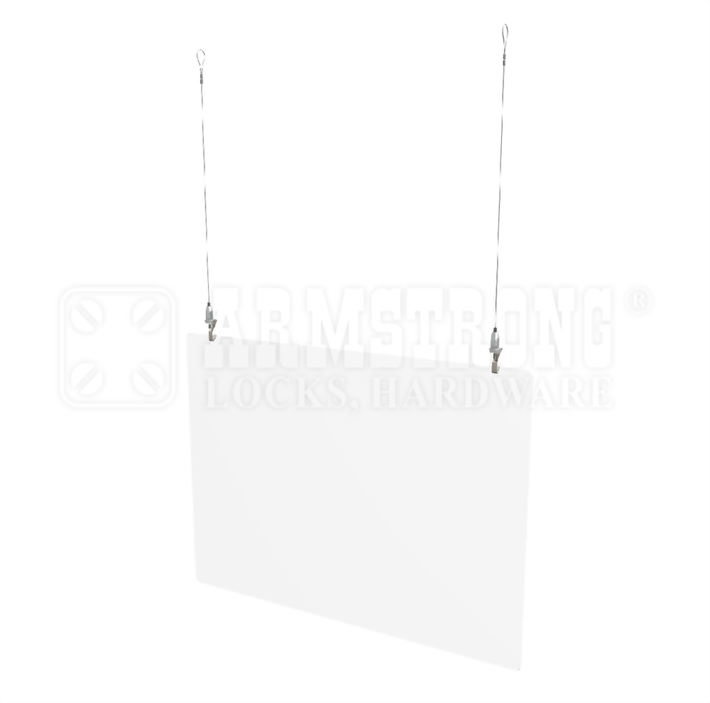 Hanging Protective Barrier for ceiling