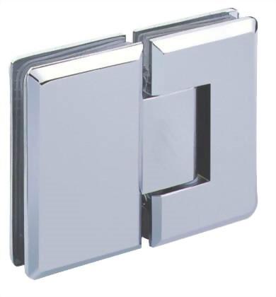 บานพับกระจก 180 องศาจากบานพับกระจก 1100B-04