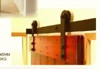 BARN SLIDING WOODEN DOOR SYSTEM
