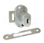 Serrure en aluminium de cadre pour la porte simple 411-1I d'encart