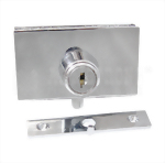 Kabinet Swinging Glass Door Plunger Lock 410-6