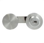 UV Glass Bonding Hardware - Runde Form Schloss für zwei Tür UV-4102-1