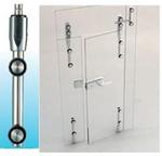 Dobradiças da porta de vidro de vidro para parede 1500sus 01 série de parafusos afundados