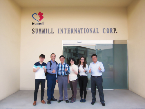 Valued customer visiting Summill in April,2018