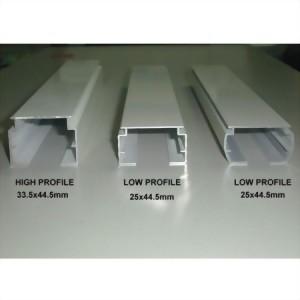 Vertical Blind Rail