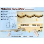 Motorized Roman Blind
