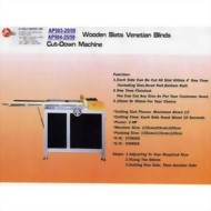 AP500A / AP503 / AP504 : Venetian Blinds Machine