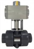 07-09-04-Pneumatic Actuator True Union Ball Valve