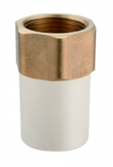 07-03-11- Female Coupling (Copper Threaded)