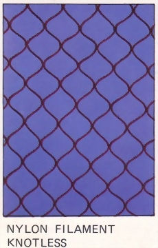 Knotless Raschel Net