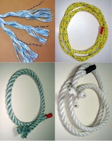 Twisted Lead Sinker Rope 3股鉛繩
