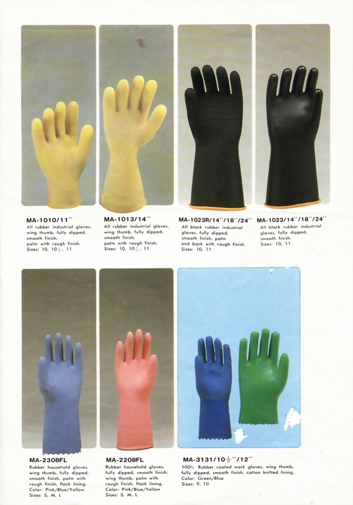 Rubber Working Gloves MA Series