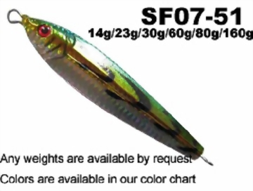 Lead Fish 14g - 160g