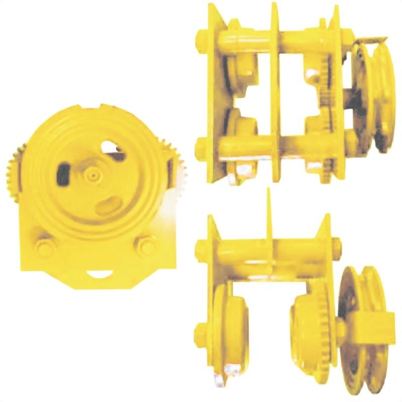 鍊條式滑車/齒輪式滑車(雙軸心型)
