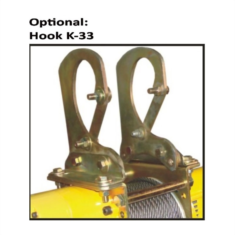 碳刷馬達吊貨捲揚機CK500