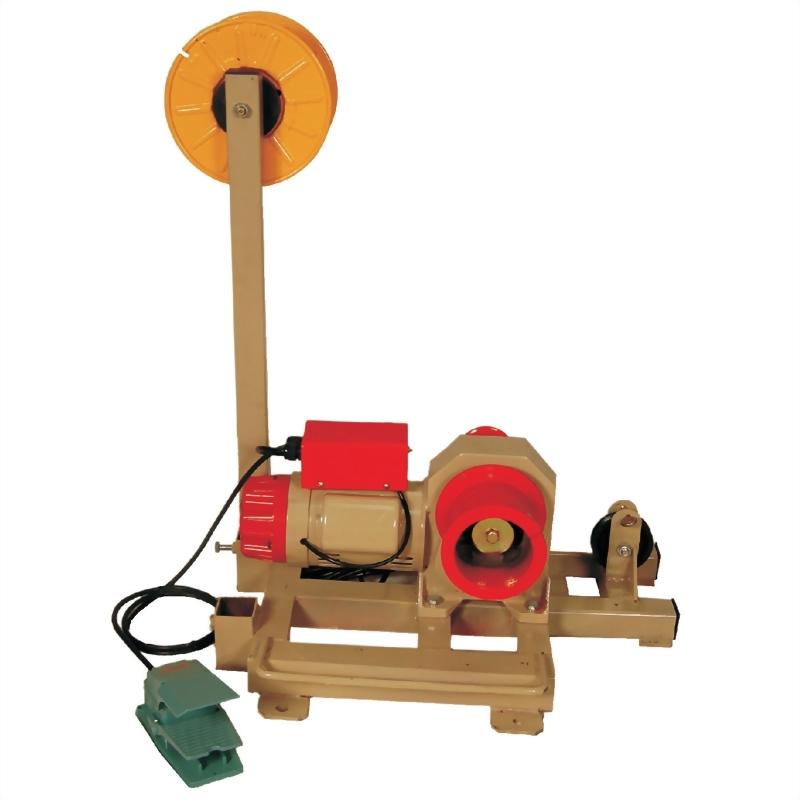 雙軸式雙速電動拉線機