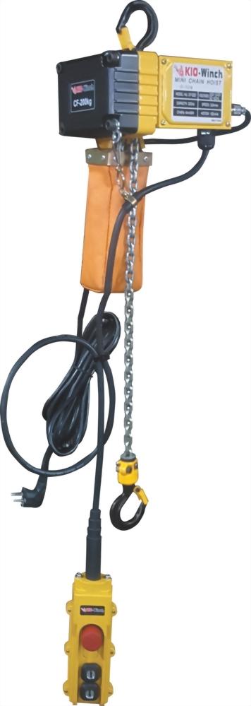 迷你型電動鍊條吊車