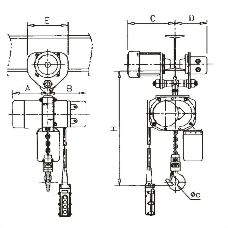 CW+電動滑車