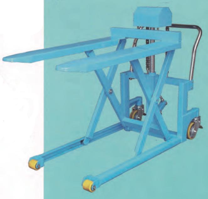 高揚程拖板車系列