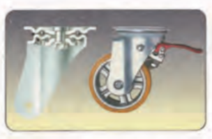 腳踏式油壓升降台車