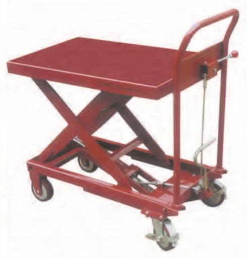 WTF-A系列腳踏式油壓升降台車