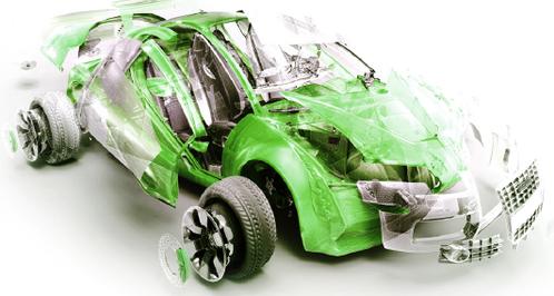 PP汽车应用