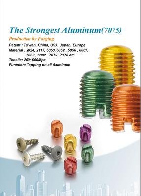 Aluminum Alloy Fasteners (Aluminio)
