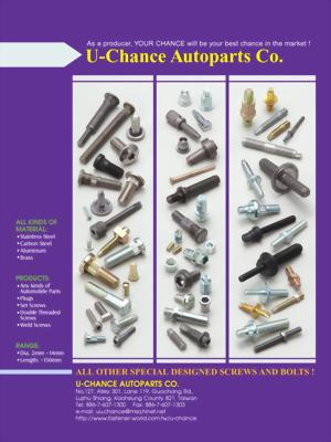 Custom-made Fasteners Catalog