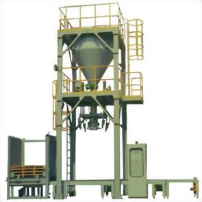 淨重式太空包自動計量充填及輸送設備