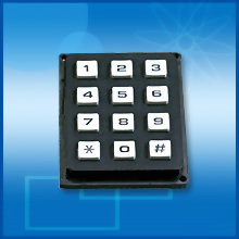 Standard keypad